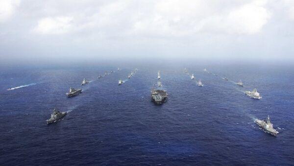 Tập trận quân sự Nhật Bản và Mỹ - Sputnik Việt Nam