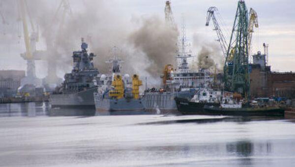 Đám cháy trên tàu ngầm hạt nhân Oriol - Sputnik Việt Nam