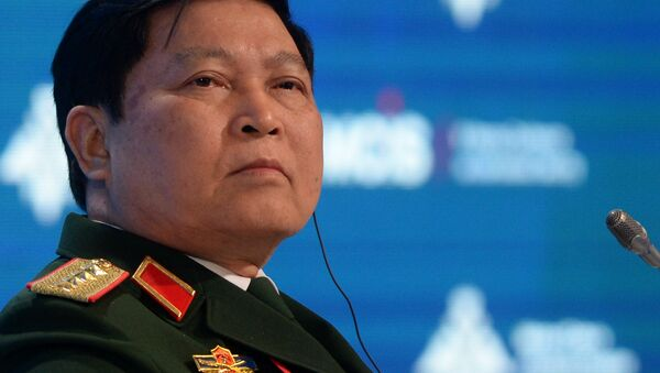 Bộ trưởng Quốc phòng Việt Nam Ngô Xuân Lịch tại Hội nghị an ninh quốc tế Moskva lần thứ V - Sputnik Việt Nam
