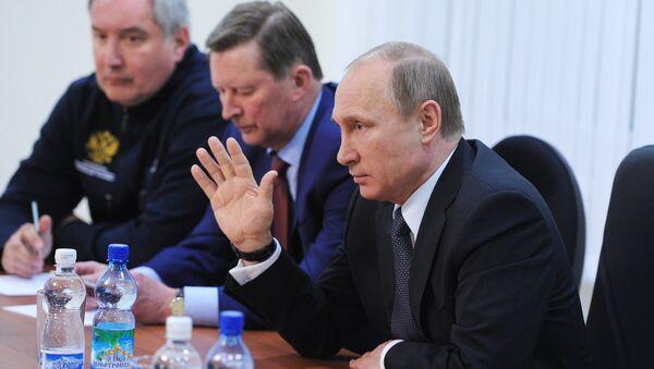 """Ông Putin phát hiện nguyên nhân sự cố trong cuộc phóng """"Soyuz-2.1A"""" - Sputnik Việt Nam"""