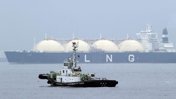 Lô hàng đầu tiên khí tự nhiên hóa lỏng (LNG) - Sputnik Việt Nam