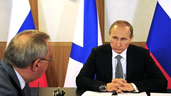 Ông Putin khiển trách Phó Thủ tướng Rogozin - Sputnik Việt Nam