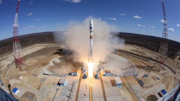 Cuộc phóng tên lửa Soyuz-2.1a đầu tiên trong lịch sử từ sân bay vũ trụ Vostochny - Sputnik Việt Nam