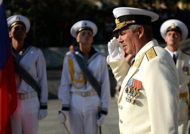 Tư lệnh Hạm đội biển đen Nga Alexander Vitko