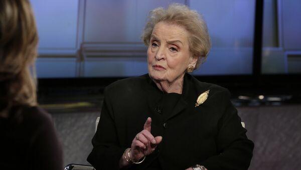 Cựu Ngoại trưởng Mỹ Madeleine Albright - Sputnik Việt Nam