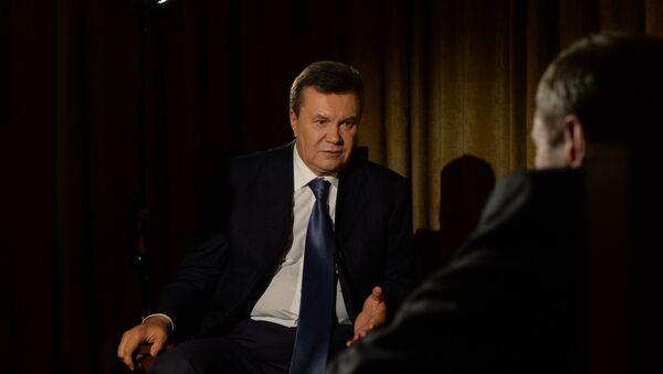 cựu tổng thống Ukraina Viktor Yanukovych - Sputnik Việt Nam