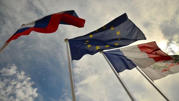 Quốc kỳ Nga, EU, Pháp - Sputnik Việt Nam