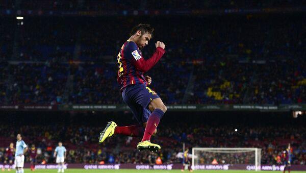 Cầu thủ tiền đạo đội bóng Barcelona của Brazil Neymar - Sputnik Việt Nam