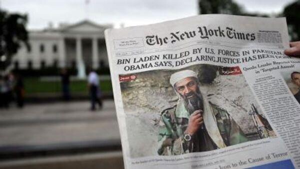 Tờ báo đăng tin về chiến dịch tiêu diệt Osama bin Laden - Sputnik Việt Nam