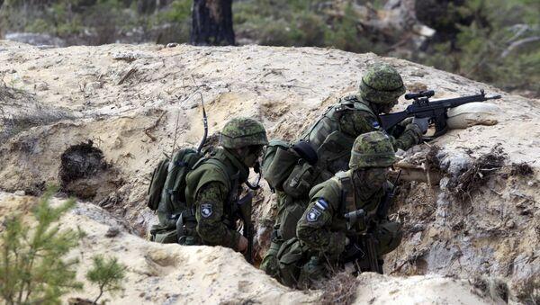 cuộc tập trận của NATO tại Estonia - Sputnik Việt Nam