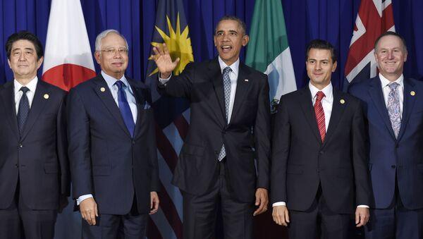 Cuộc gặp của các nước tham gia TPP - Sputnik Việt Nam