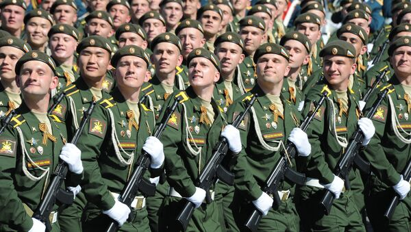 Diễu binh kỷ niệm lần thứ 71 Chiến thắng trong Chiến tranh Vệ quốc Vĩ đại - Sputnik Việt Nam
