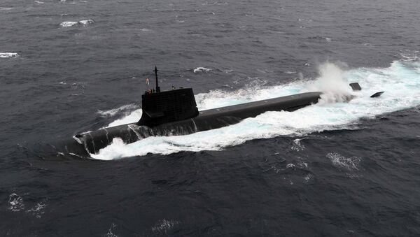 Tàu ngầm Nhật Bản  - Sputnik Việt Nam