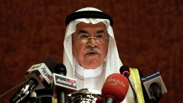 Bộ trưởng Dầu mỏ Saudi Arabia  Ali al-Naimi - Sputnik Việt Nam