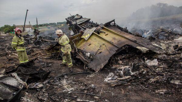 Tai nạn Boeing-777 của Malaysia gần Shakhtersk, Donetsk. - Sputnik Việt Nam