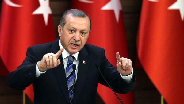 Tổng thống Thổ Nhĩ Kỳ Tayyip Erdogan - Sputnik Việt Nam