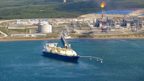 khí tự nhiên hóa lỏng (LNG) - Sputnik Việt Nam