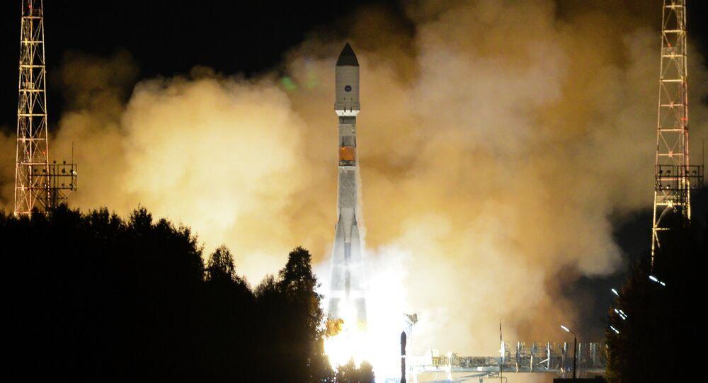 Việc phóng tên lửaSoyuz-2.1B mang vệ tinh GLONASS-M