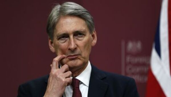 Ngoại trưởng của Vương quốc Anh Philip Hammond - Sputnik Việt Nam