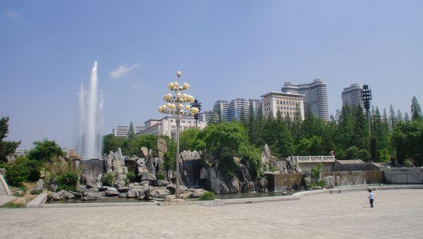 Các tòa nhà chọc trời ở Bình Nhưỡng - Sputnik Việt Nam