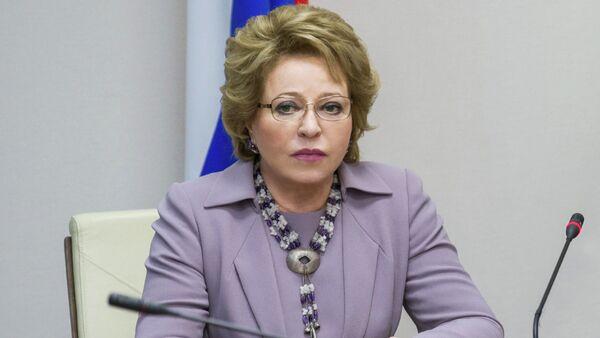 Chủ tịch Thượng viện LB Nga Valentina Matvienko - Sputnik Việt Nam