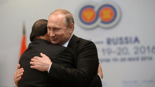 Cuộc gặp gỡ song phương giữa Tổng thống Nga Vladimir Putin và Thủ tướng nước Cộng hòa xã hội chủ nghĩa Việt Nam Nguyễn Xuân Phúc - Sputnik Việt Nam