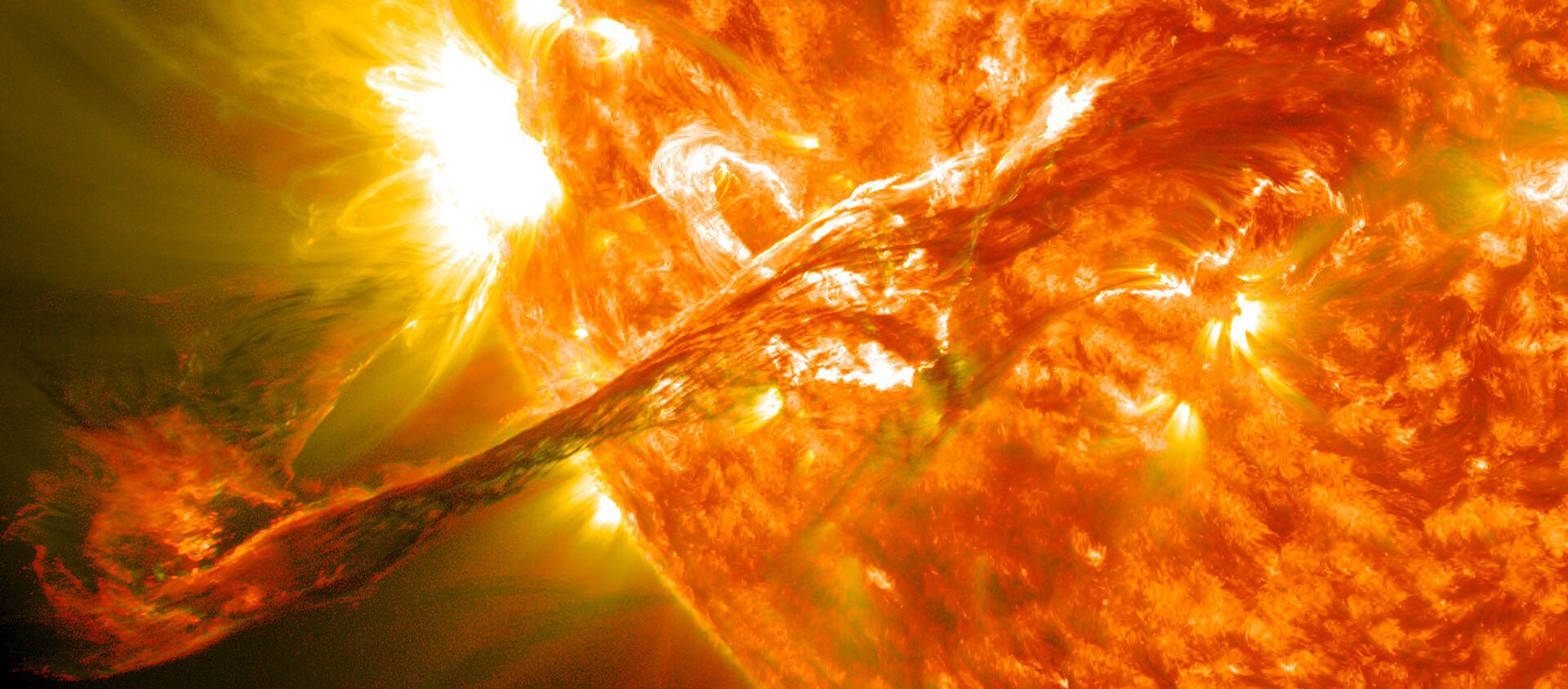 Vụ nổ trên Mặt trời - Sputnik Việt Nam, 1920, 02.12.2020