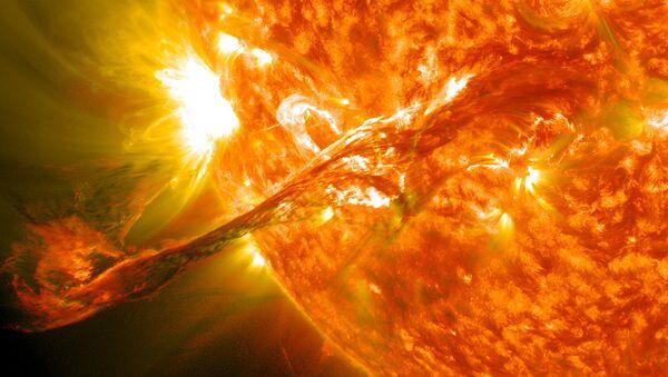 Vụ nổ trên Mặt trời - Sputnik Việt Nam