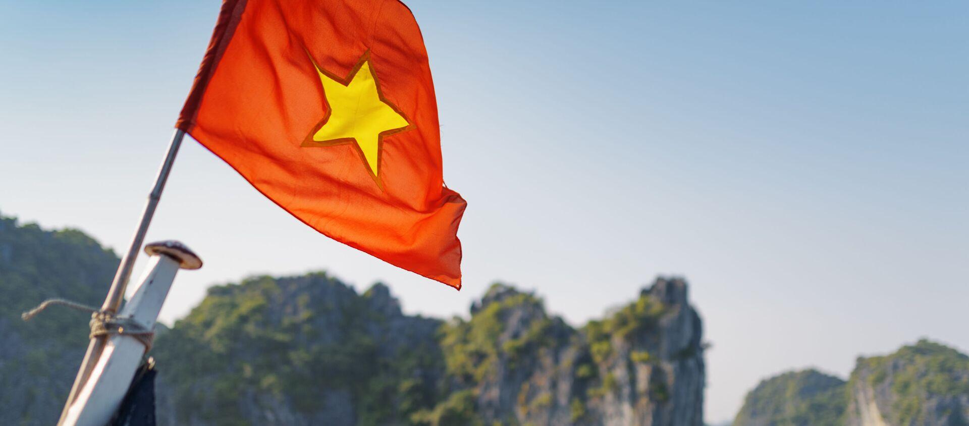 Quốc kỳ Việt Nam - Sputnik Việt Nam, 1920, 08.08.2018