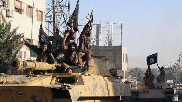 IS tại Raqqa, Syria - Sputnik Việt Nam