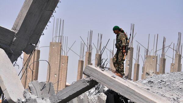 người Kurd Syria ở thành phố Raqqa - Sputnik Việt Nam