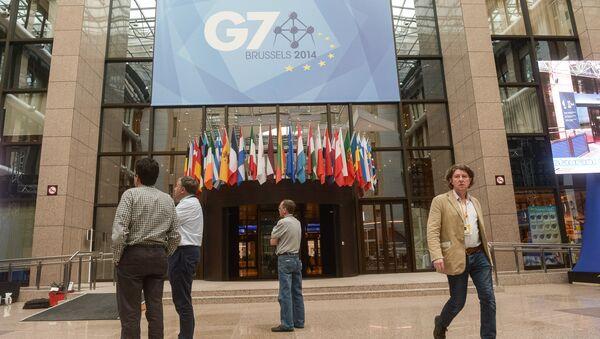 """Hội nghị thượng đỉnh của """"Big Seven"""" tại Brussels - Sputnik Việt Nam"""