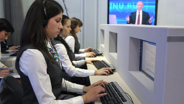 Đường dây trực tiếp với Vladimir Putin - Sputnik Việt Nam
