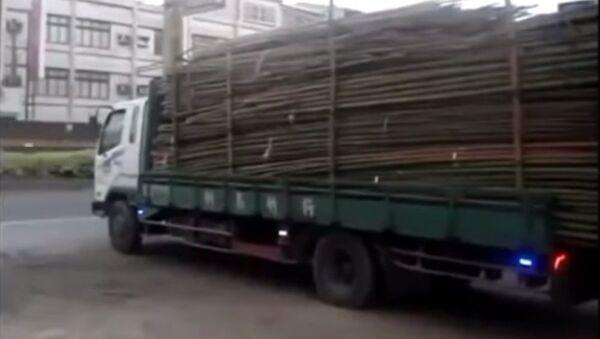 Người Trung Quốc làm thế nào để bốc dỡ xe tải - Sputnik Việt Nam