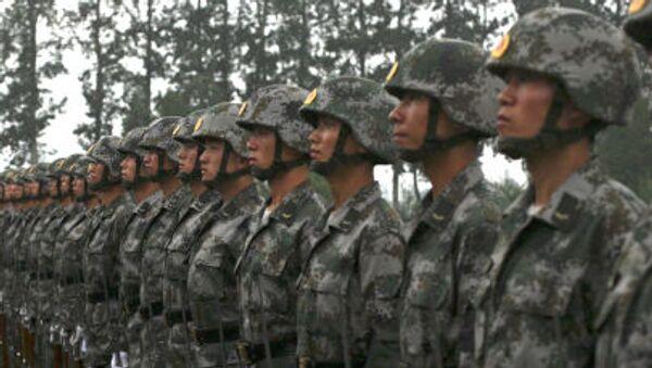 cuộc tập trận ở Trung Quốc - Sputnik Việt Nam