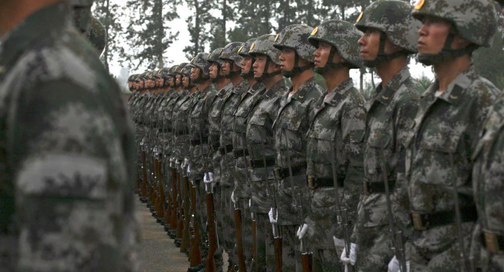 cuộc tập trận ở Trung Quốc