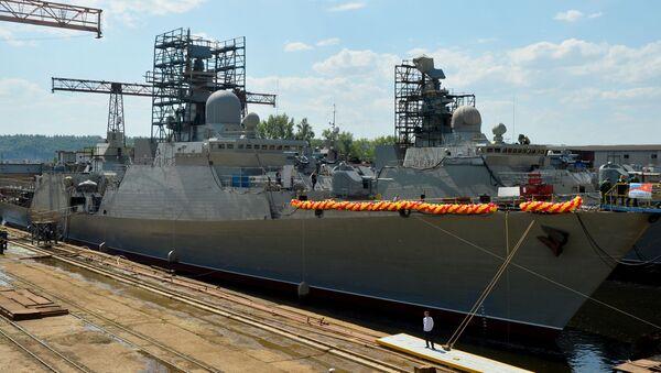 tàu khu trục Gepard-3.9 - Sputnik Việt Nam