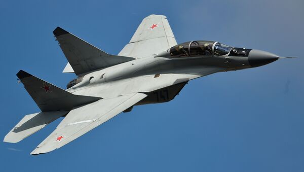 Chiến đấu cơ đa mục tiêu MiG-35 - Sputnik Việt Nam