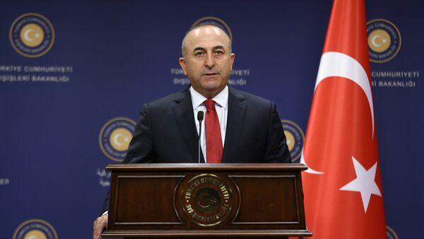 Ngoại trưởng Thổ Nhĩ Kỳ Mevlut Cavusoglu - Sputnik Việt Nam
