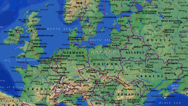 Bản đồ châu Âu - Sputnik Việt Nam
