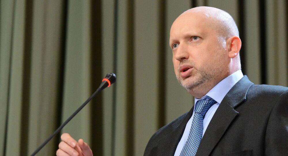 Thư ký Hội đồng An ninh và Quốc phòng của Ukraina Aleksandr Turchinov