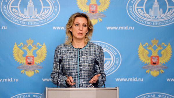 Đại diện chính thức của Bộ Ngoại giao Nga Maria Zakharova - Sputnik Việt Nam