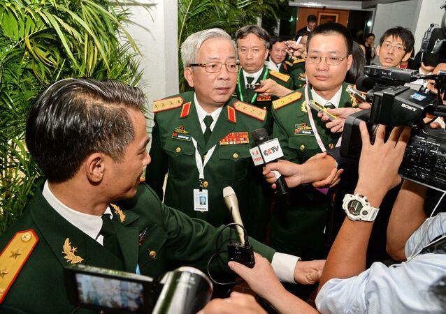 Thứ trưởng Bộ Quốc phòng Việt Nam Nguyễn Chí Vịnh