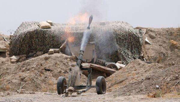 Lực lượng chính phủ Syria tấn công vào thành trì của IS ở Raqqa - Sputnik Việt Nam