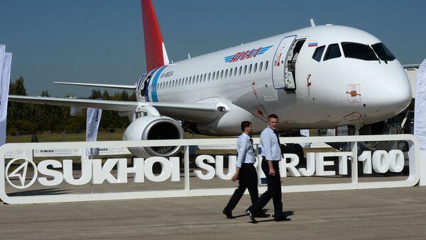 Sukhoi Superjet 100 - Sputnik Việt Nam