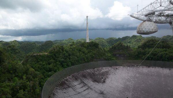 Kính viễn vọng vô tuyến lớn nhất thế giới Arecibo - Sputnik Việt Nam