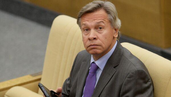 Chủ tịch Ủy ban đối ngoại của Duma Quốc gia Nga Alexei Pushkov - Sputnik Việt Nam