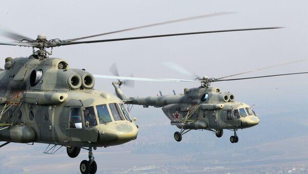Máy bay trực thăng MI-17 - Sputnik Việt Nam