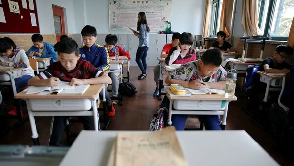 Hoc sinh trường thể thao ở Thượng Hải - Sputnik Việt Nam