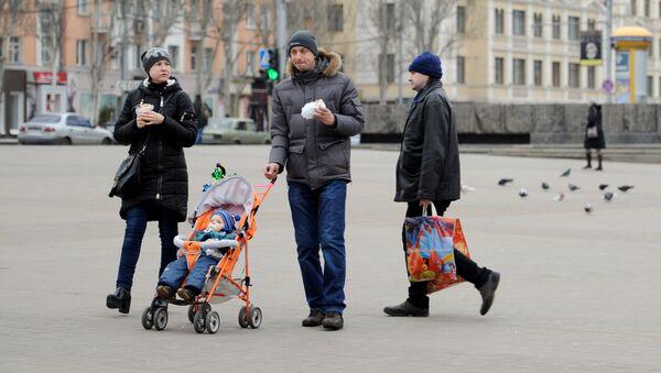 Cuộc sống hoà bình ở Donetsk - Sputnik Việt Nam